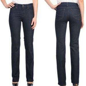 NYDJ  High- Rise Hayden Straight Leg Jeans